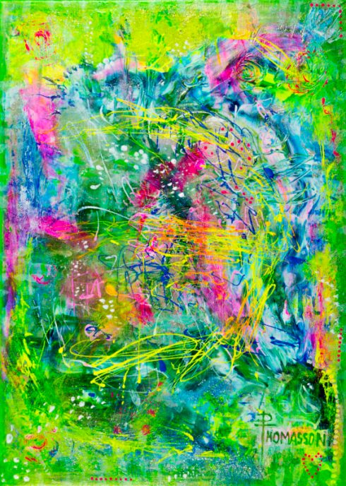uv paint on canvas party fun dribbles drips and flicking paint